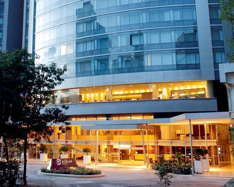 FACHADA Hotel ESTELAR Milla de Oro Medellín